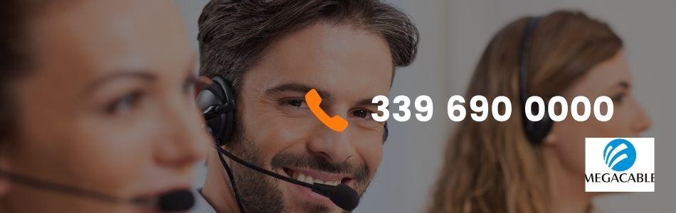¿Cuál es el número de atención a clientes Megacable?