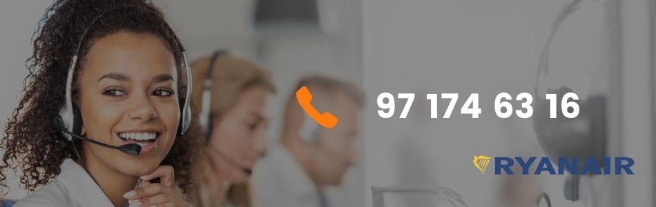 Lista de Teléfonos Gratuitos Ryanair
