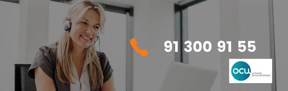 Lista de teléfonos de atención a clientes OCU