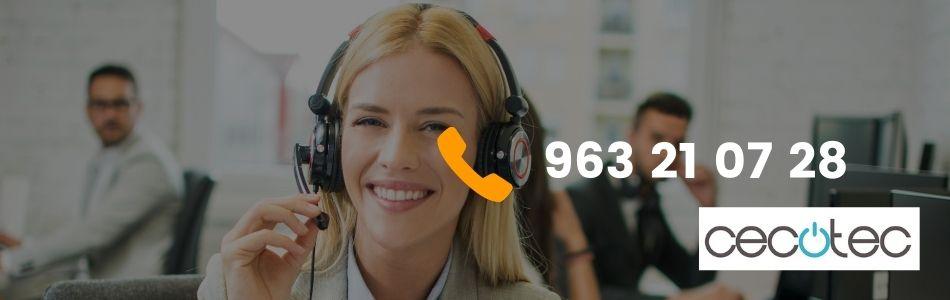 Teléfono Cecotec para la Atención al cliente