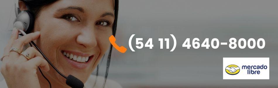 Teléfono Mercado Libre por Países
