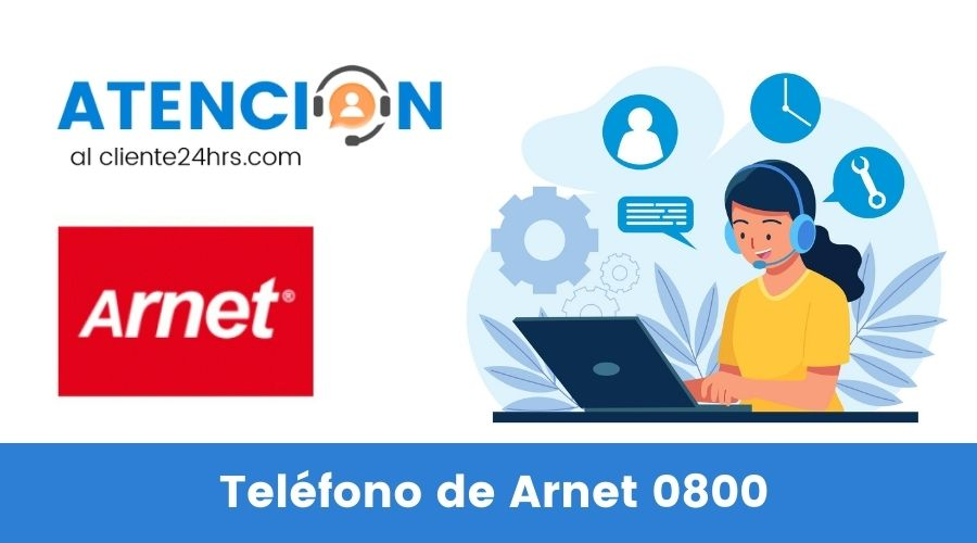 Teléfono de Arnet 0800