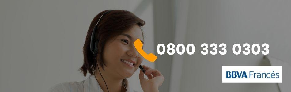 Teléfonos 0800 Banco Frances BBVA