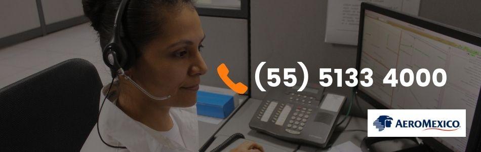Teléfonos de Atención a Clientes Aeroméxico 01800
