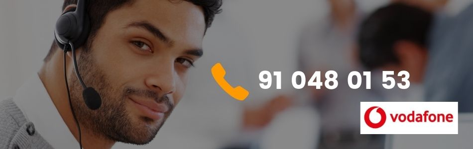 Teléfonos de atención al cliente Vodafone