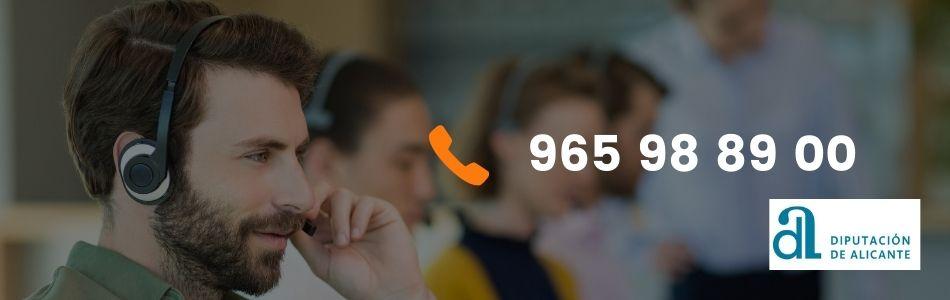 Teléfonos de la diputación de Alicante
