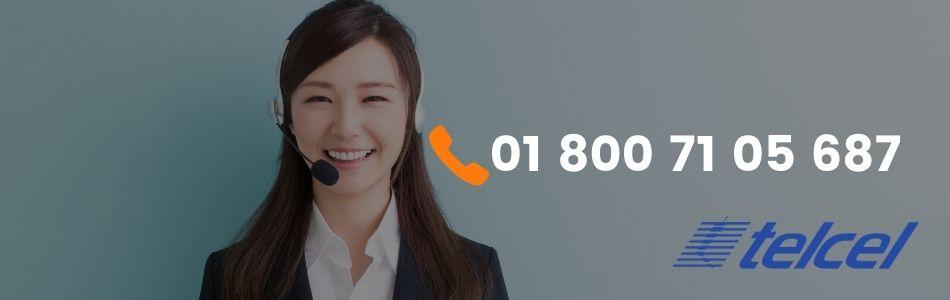 atencion a clientes telcel 01800