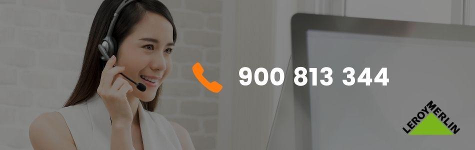 atencion al cliente leroy merlin telefono